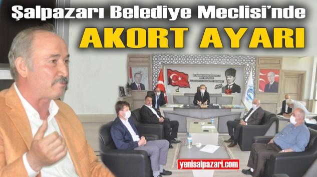 Şalpazarı Belediye Meclisi olağanüstü toplandı