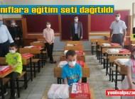 Şalpazarı Eğitim Derneği öğrencilere eğitim seti gönderdi