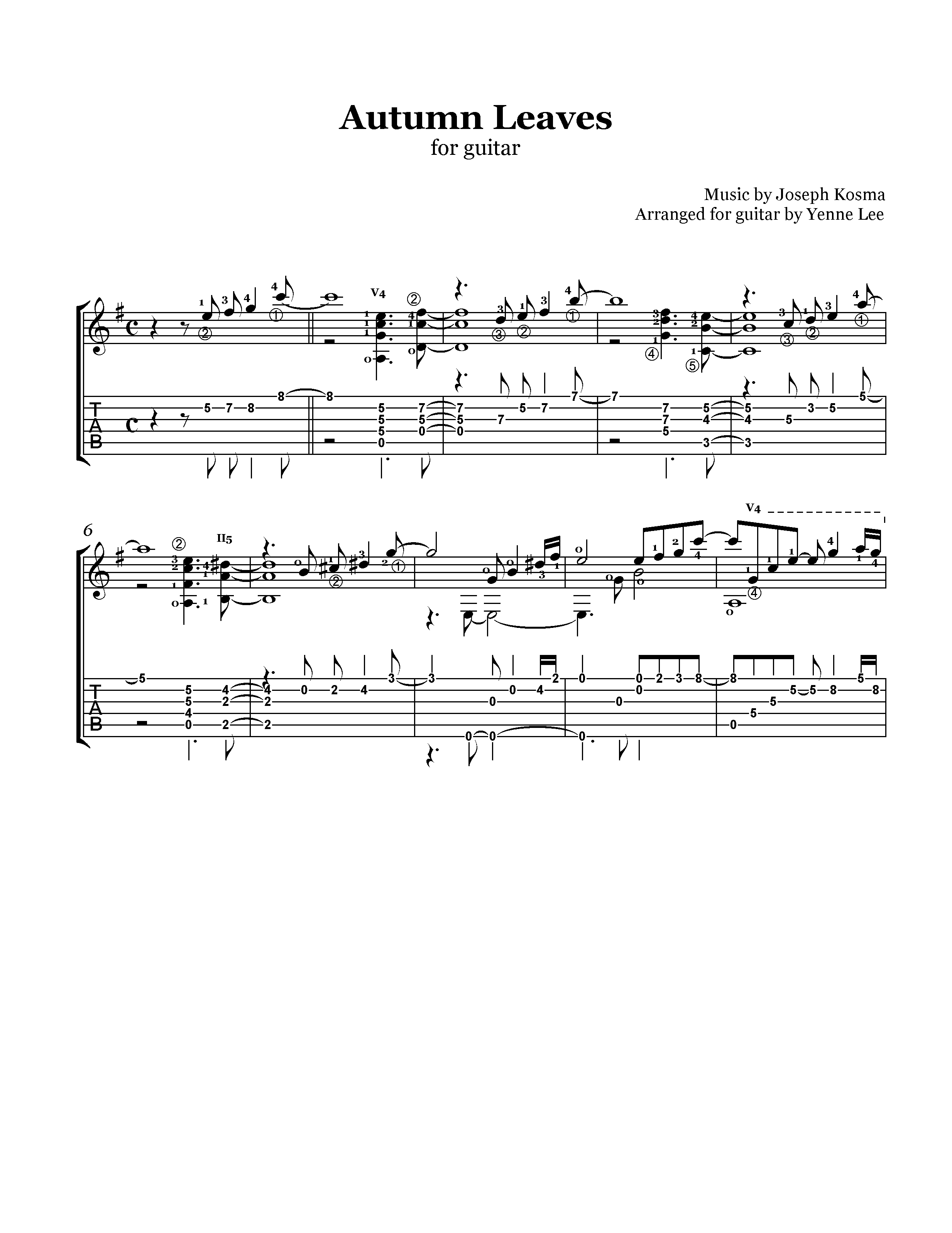 yesterday once more music sheet pdf