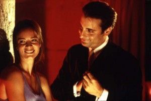 "Gabrielle Anwar as Dagney; Andy García as Jimmy ""The Saint"" Tosnia"