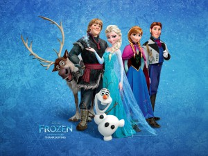 Frozen WP Let it go