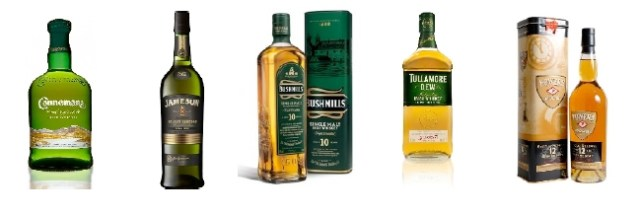 identidad visual Irish whisky
