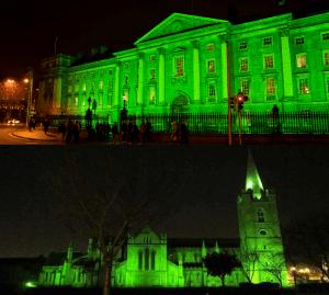 El Trinity College y St. Patrick Cathedral.