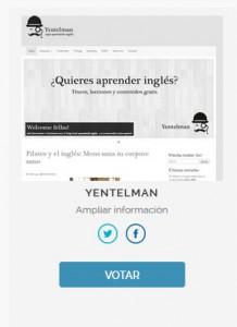 Premios Aragón en la Red Yentelman