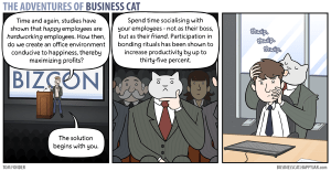 Business Cat bonding