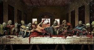 Lo de la carne y la sangre se lo tomaron al pie de la letra.