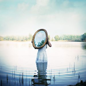 Reflection of the soul by Astridle, via DeviantArt.