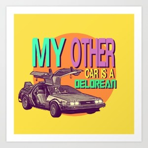 My other car is a delorean