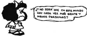 Mafalda gente y personas