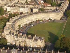Royal Crescent question mark