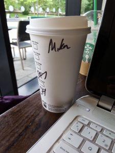 Mika Starbucks