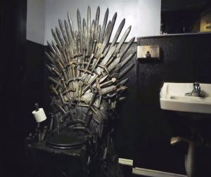 iron throne toilet