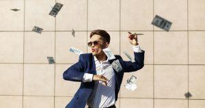 hombre rico