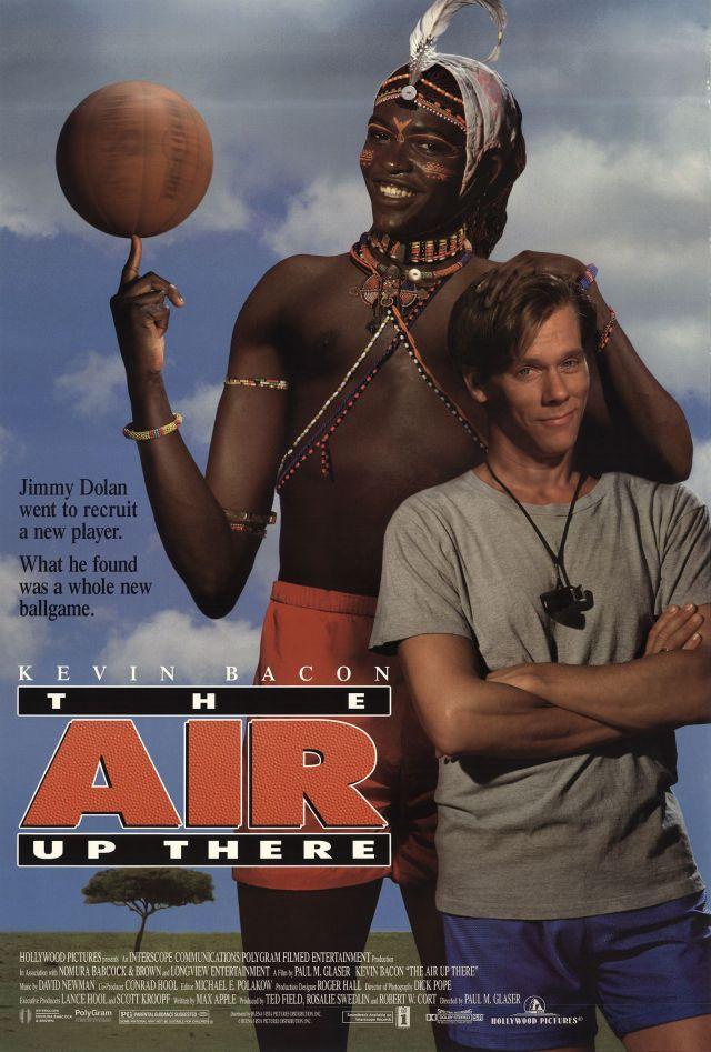 The Air up There - títulos de películas deportivas en inglés y sus adaptaciones al español.