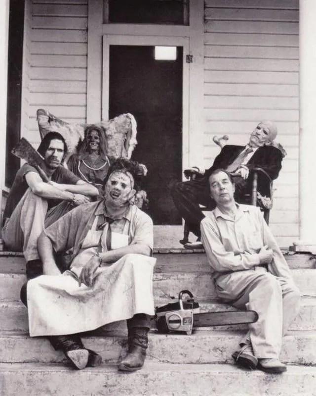 Texas Chainsaw Massacre family. Familia en inglés