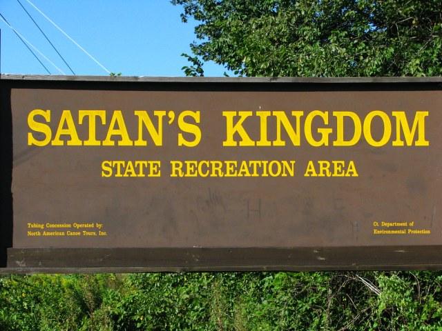 Satan's Kingdom. Nombres de lugar peculiares en Estados Unidos