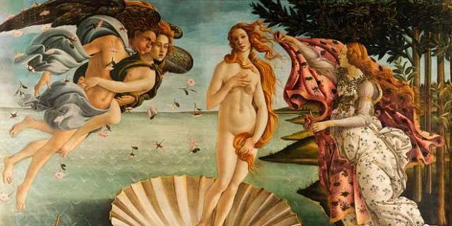 Venus Afrodita - meses del año en inglés