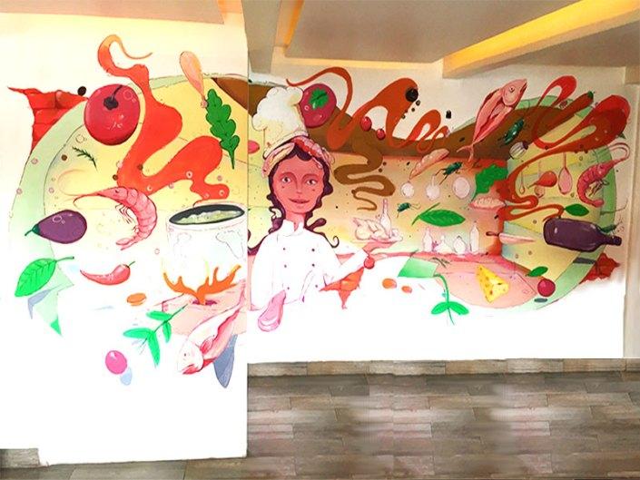 Imagen cocina Yerbabuena Restaurante en Coyoacán