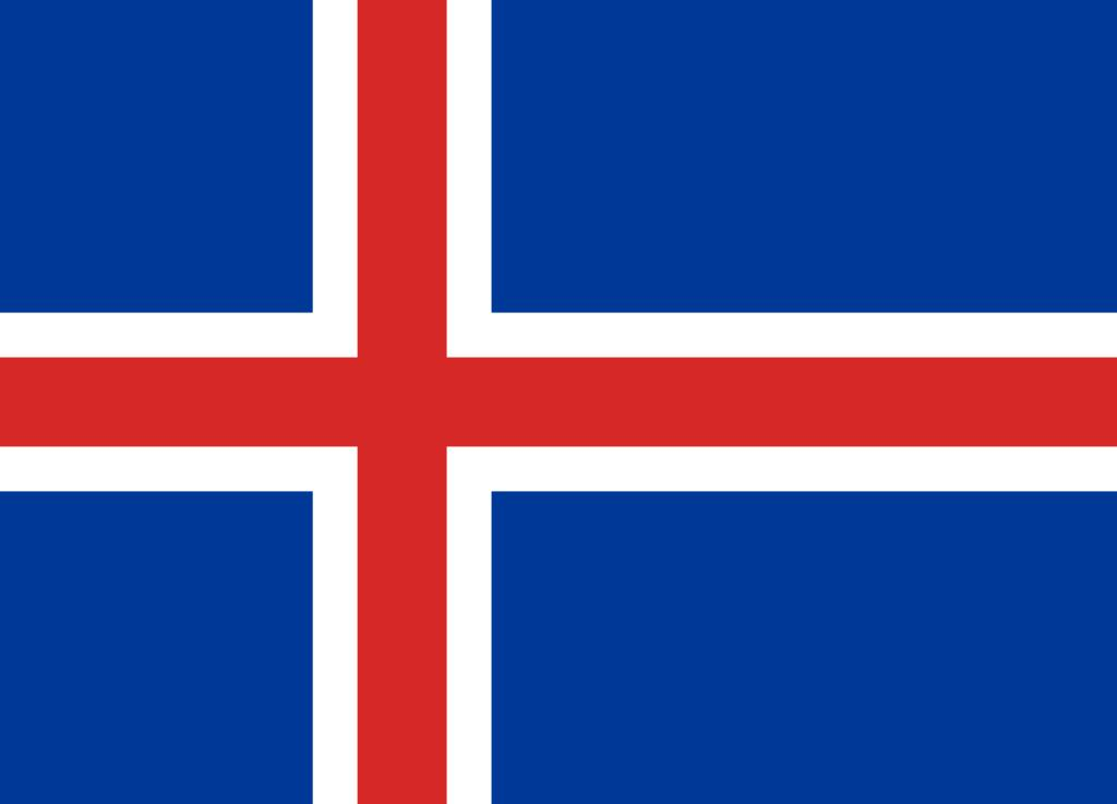 flag coloring iceland luxembourg free world flag pictures