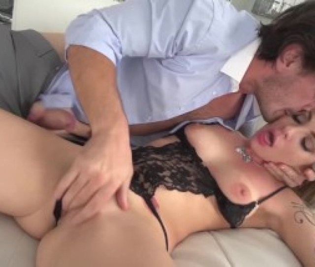 Wife Organized For Her Mature Husband A Threesome Sex With A Deep Throat Penetration