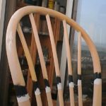שיפוץ, חידוש ועיצוב של כסא: סלוטייפ ליצירת פס תחתון נקי