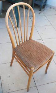 שיפוץ, חידוש ועיצוב של כסא: תזכורת למושב שנרפד עוד מעט מחדש