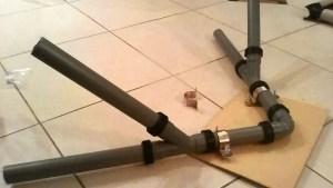 יש מיש עכביש 2 ניצול צינורות ומחברי אינסטלציה חיבור Y