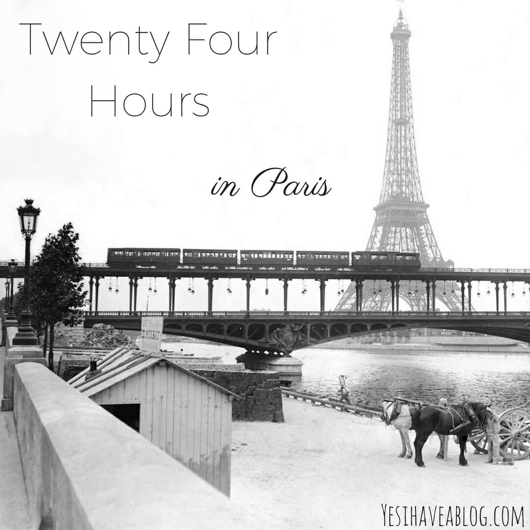 Twenty Four Hours in Paris | Winterlust - Yesihaveablog | Winter Travel
