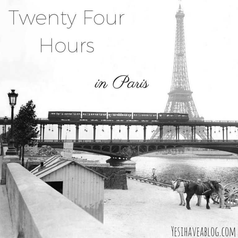 Twenty Four Hours in Paris   Winterlust - Yesihaveablog   Winter Travel