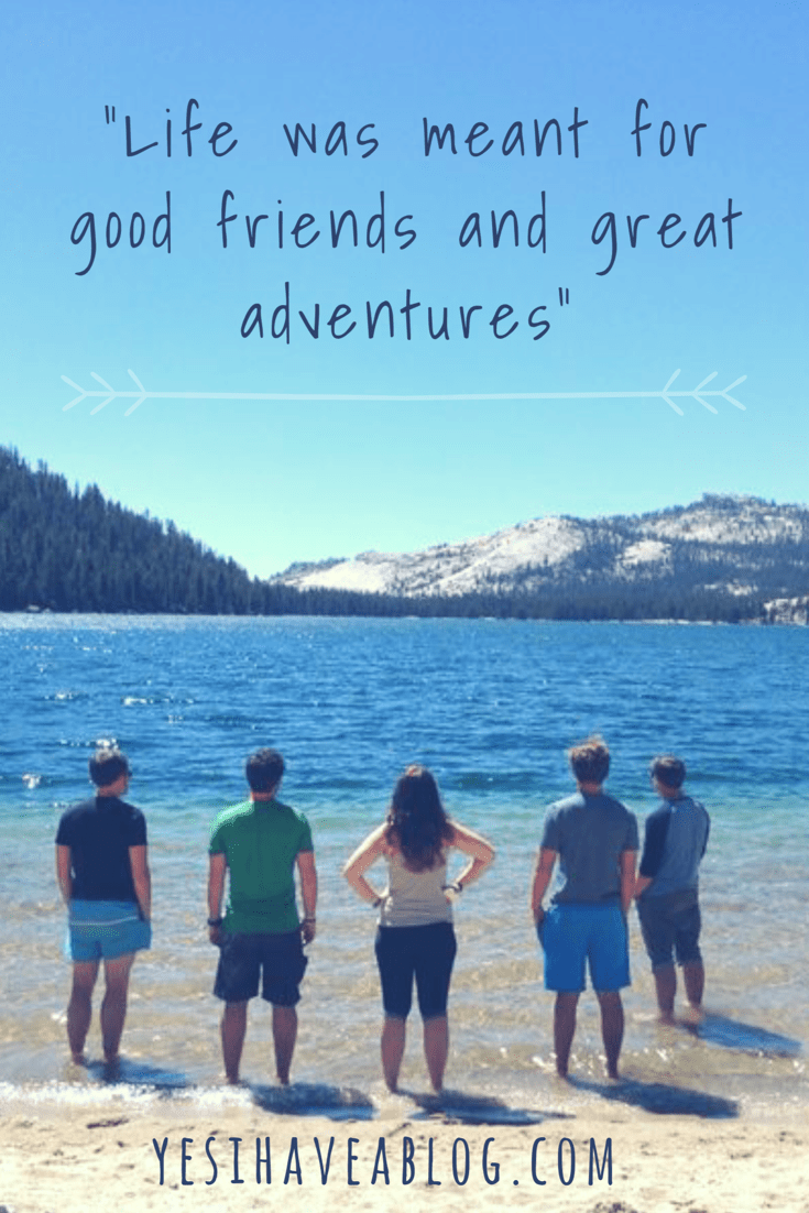 Life was meant for good friends and great adventures wanderlust travel quote