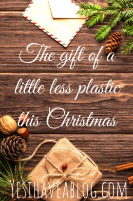 Gift inspiration and gift wrap tips for reducing your plastic footprint this Christmas | yesihaveablog