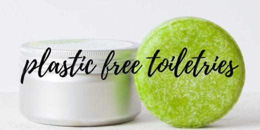 Plastic free toiletries zero waste biodegradable toiletries