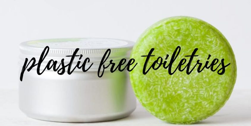 Plastic Free Toiletries – How to Reduce Plastic Waste in the Bathroom