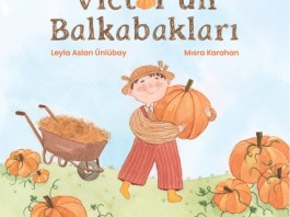 Victor'un Balkabakları çocuk kitabı