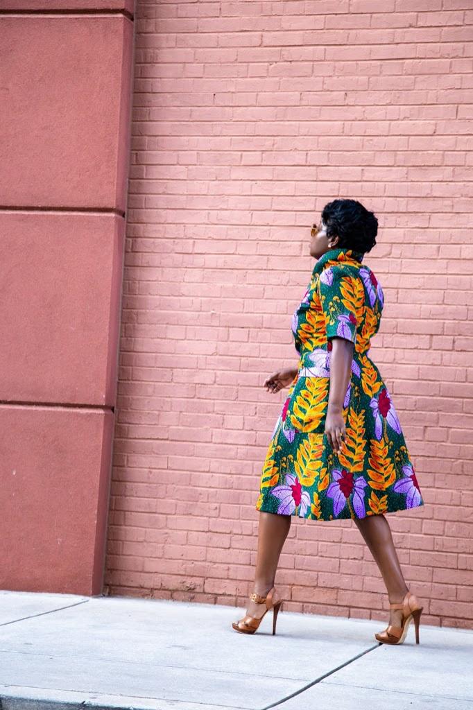 McCalls 7835- Brunch coat dress - Yes I Made My Dress