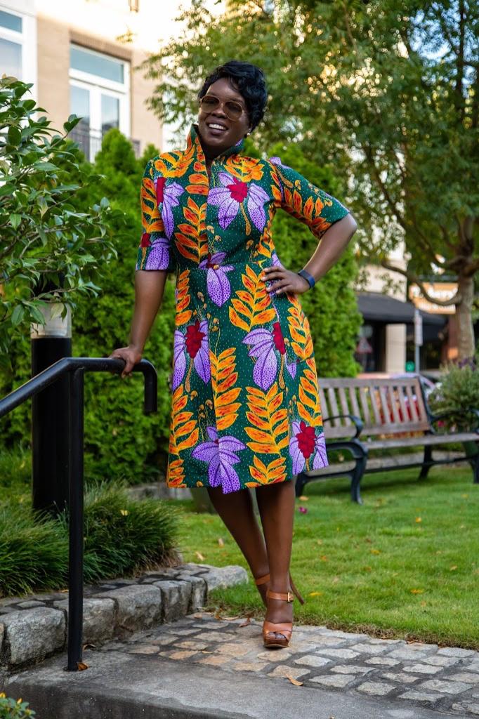 McCalls 7835- Fall Coat dress - Yes I Made My Dress