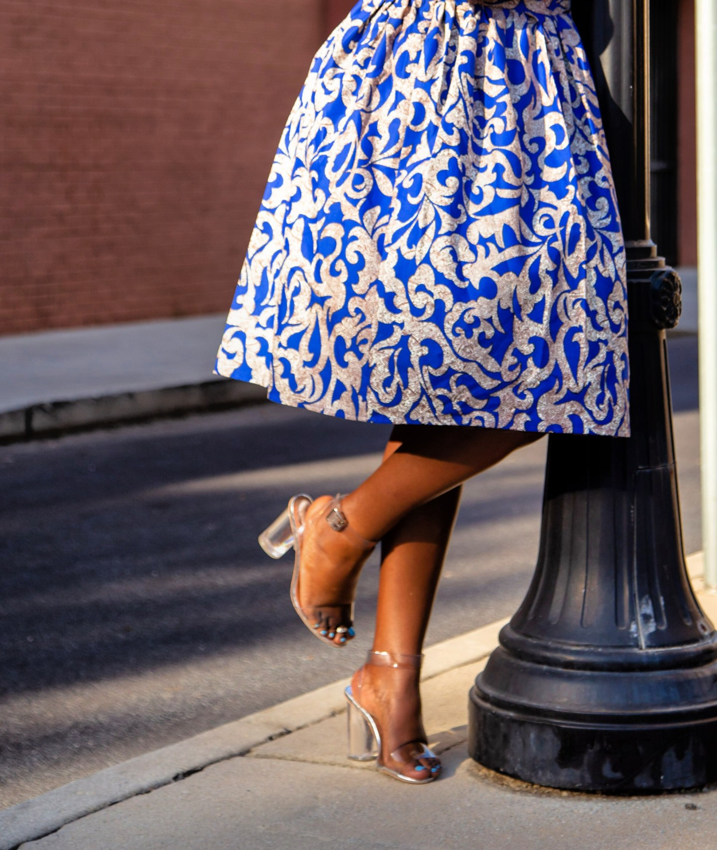 Modernized vintage dress using Butterick 5708