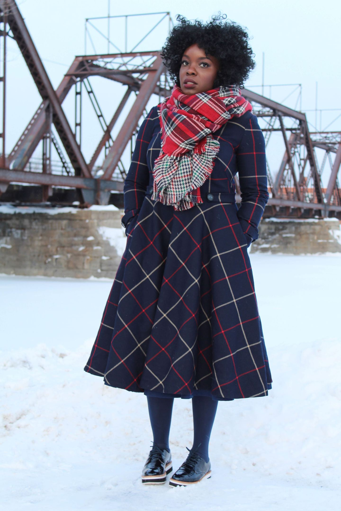 It's a DIY: Tweed Dress