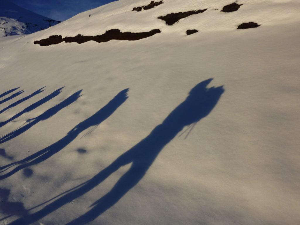 Shadows on Volcano Villarrica, Pucon