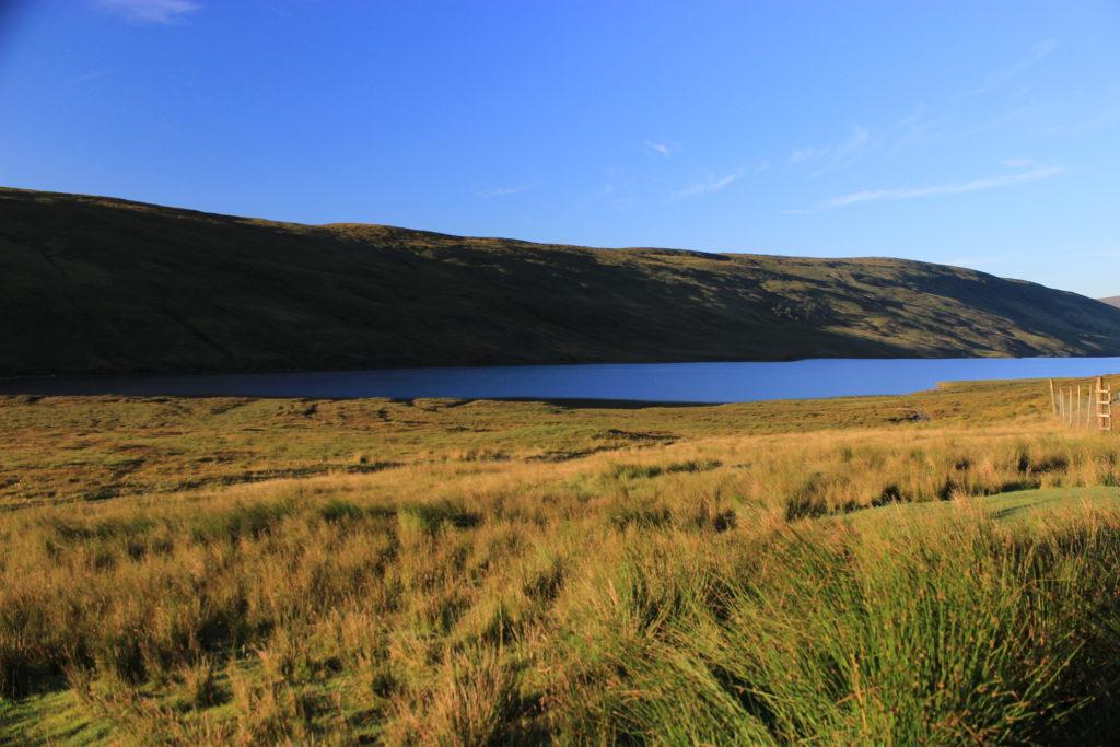 Cape Wrath Trail - Loch an Daimh near Knockdamph bothy