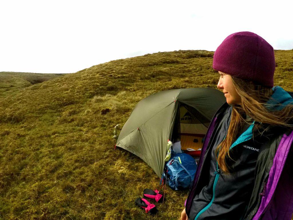 Wild camping in Shetland