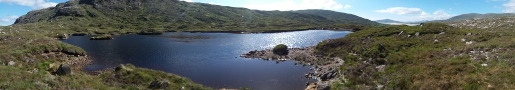 Walking the Hebridean Way - camping