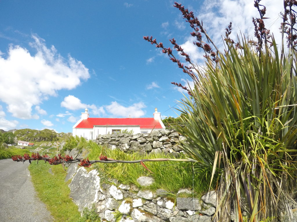 Walking the Timeline of Britain - a house in Harris, Outer Hebrides