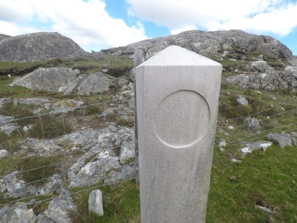 Walking the Hebridean Way - no sign