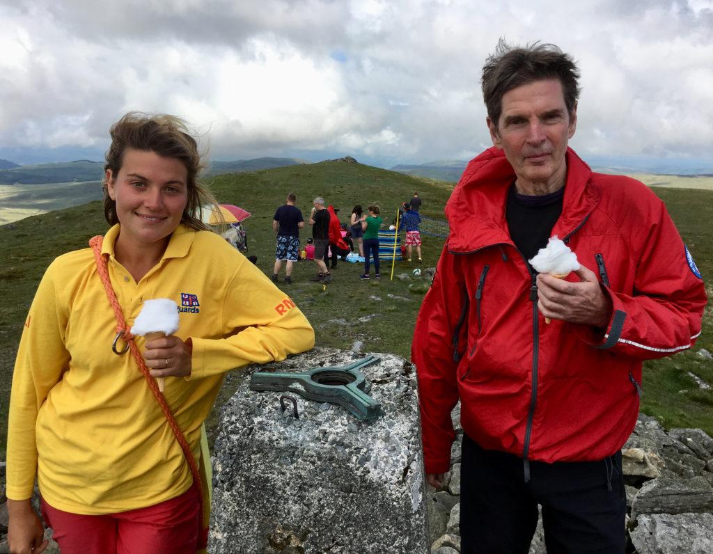 Britain's highest beach - NLI and Mountain Rescue