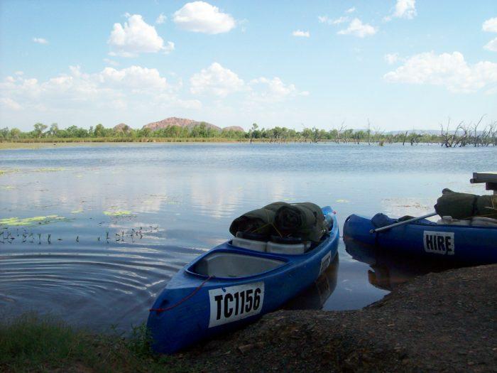 Canoe - water phobia