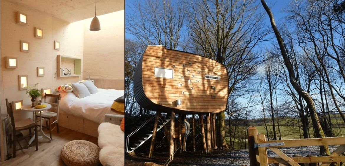Treehouse - great quirky glamping breaks in UK