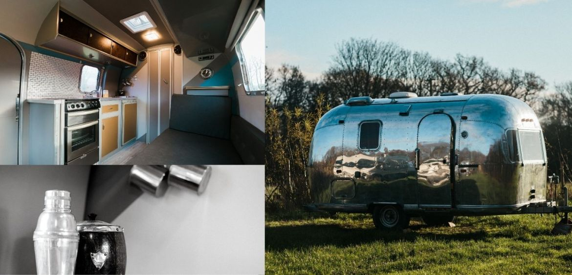 Airstream glamping - great quirky glamping breaks in UK