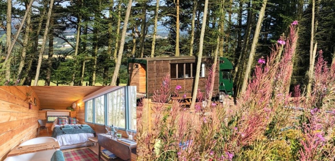 Horse cabin - quirky glamping breaks in UK.