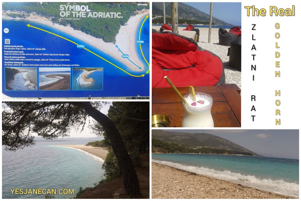 Golden Horn beach - The best islands in Croatia